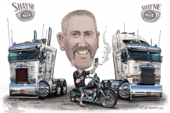 02_Truck_Harley_Motorbike_Caricature_Cartoon