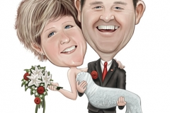 09_Wedding_Caricature_Cartoon