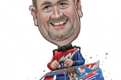 11_Speedway_Caricature_Cartoon