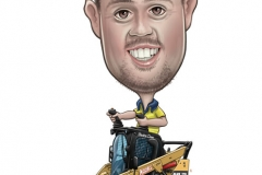 20_Caricature_Bobcat_Excavator_Cartoon