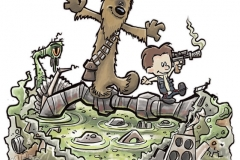 25_Cartoon_Calvin_Hobbes_Star_Wars_Han_Chewbacca