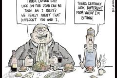 02_Editrial_Cartoon_Politician_Truck