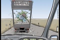 06_Editorial_Cartoon_Samsung_Truck