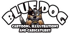 Bluedog Cartoons