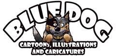 Bluedog Cartoons